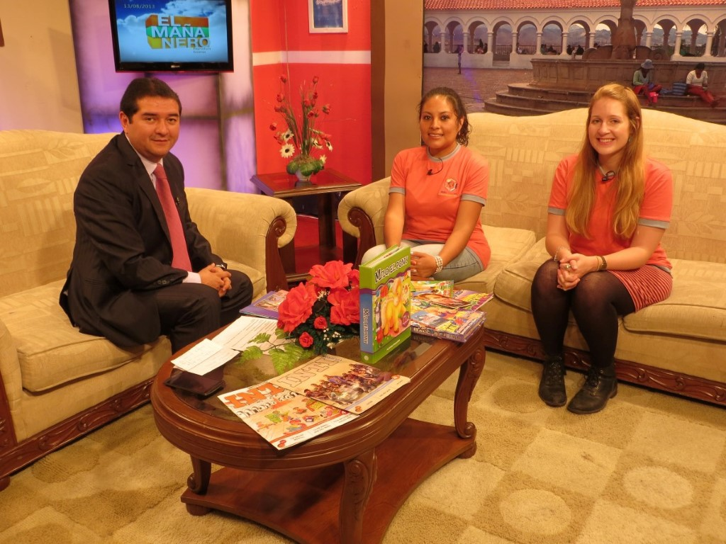 Bolivian_TV_interview
