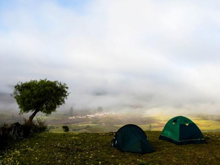 Maragua Crater near Sucre Bolivia