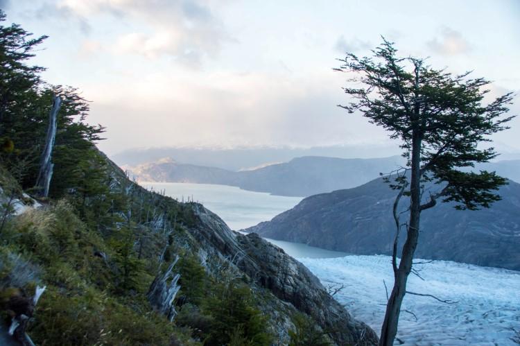 Glacier Grey in Torres del Paine National Park, Patagonia.