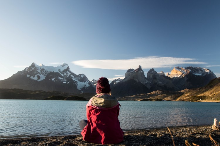 Views across the Cordillera del Paine in Torres del Paine National Park, an unmissable place to travel to in Patagonia.