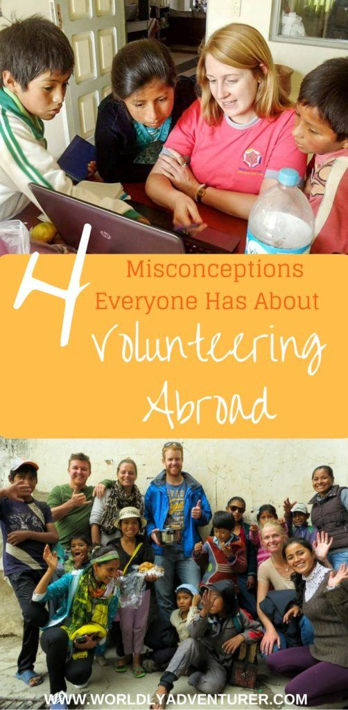 Don't be fooled by these four common misconceptions about volunteering abroad. Learn how to have a real impact on the lives of the people you help abroad.