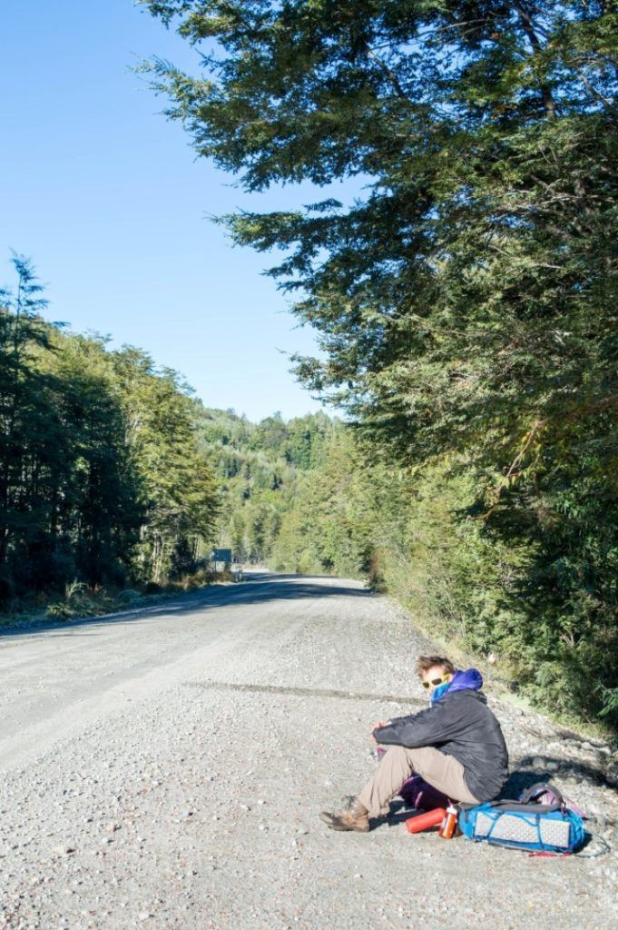 hitchhiking in Chile