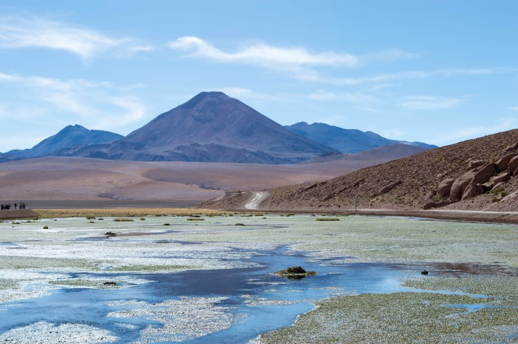 The road towards El Tatio Geysers, one of the things to do in San Pedro de Atacama and the Atacama Desert