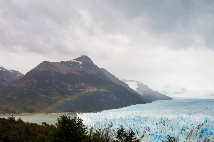 Glacier Perito Moreno in Los Glaciers National Park is a good day trip from El Calafate for a one-week Patagonia itinerary