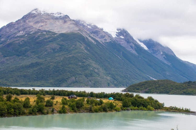 Campamento Dickson, one of the refugios and campsites along the O Circuit in Torres del Paine National Park, a key feature on a two-week Patagonia itinerary