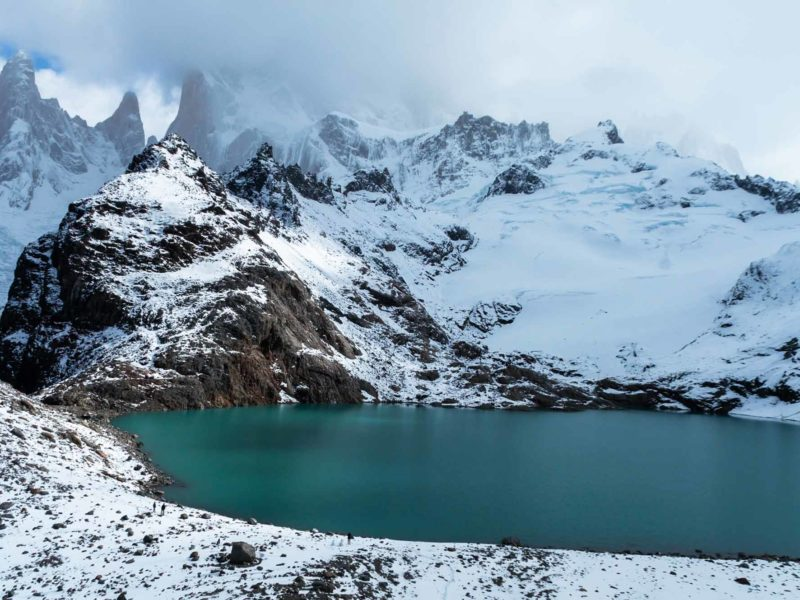 Laguna de los Tres, an unmissable hike accessible from El Chalten in Argentine Patagonia and an essential stop on a one week or two week Patagonia itinerary
