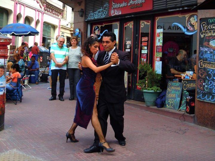 Tango in San Telmo, Buenos Aires
