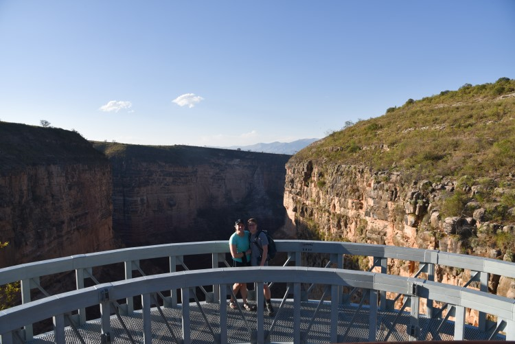 The bridge in Toro Toro National Park: a Bolivia tourist attraction not for the faint of heart!