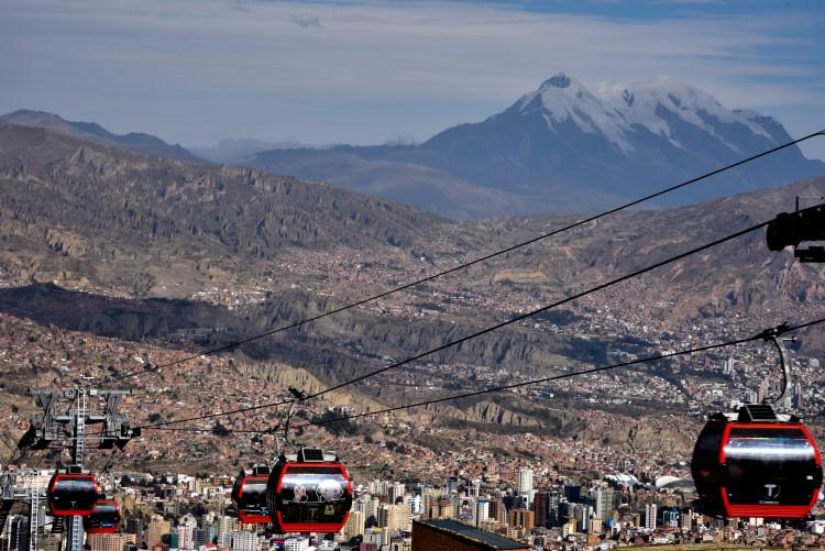 La Paz's iconic telefericos: unmissable Bolivia tourist attractions