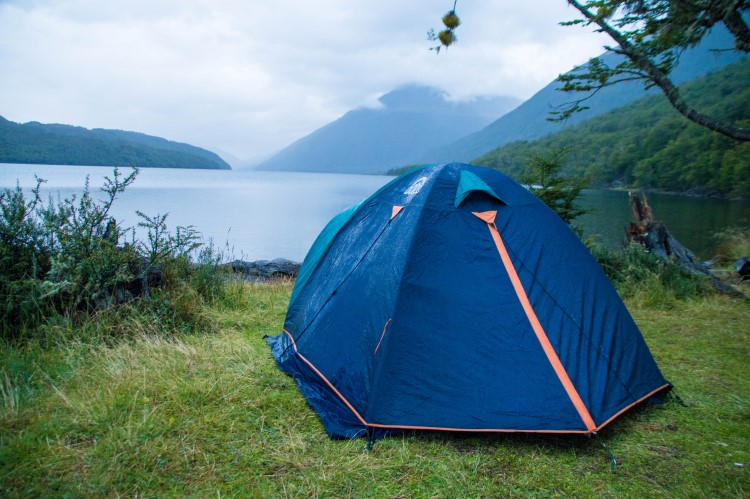 Camping in Patagonia is a good way of travelling in Patagonia cheaply.
