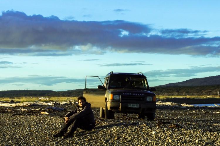 Car rental in Patagonia.
