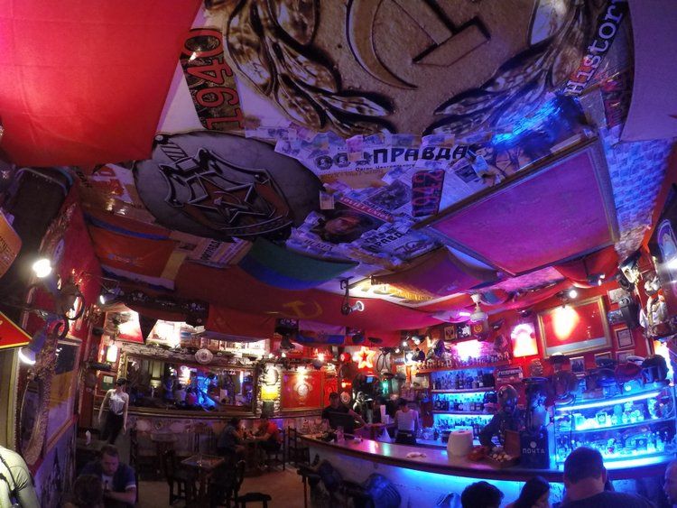 The KGB Bar in Catagena, Colombia.