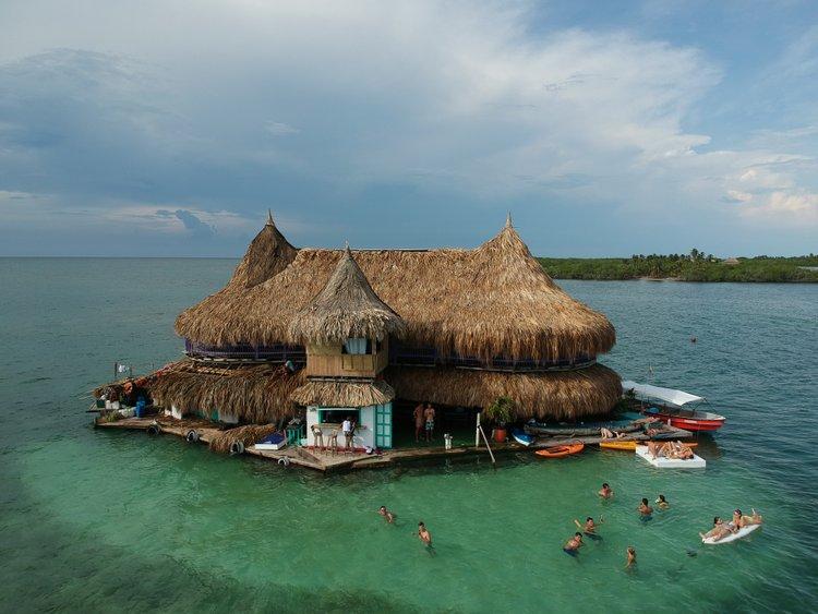 Casa en el Agua hostel, Cartagena.