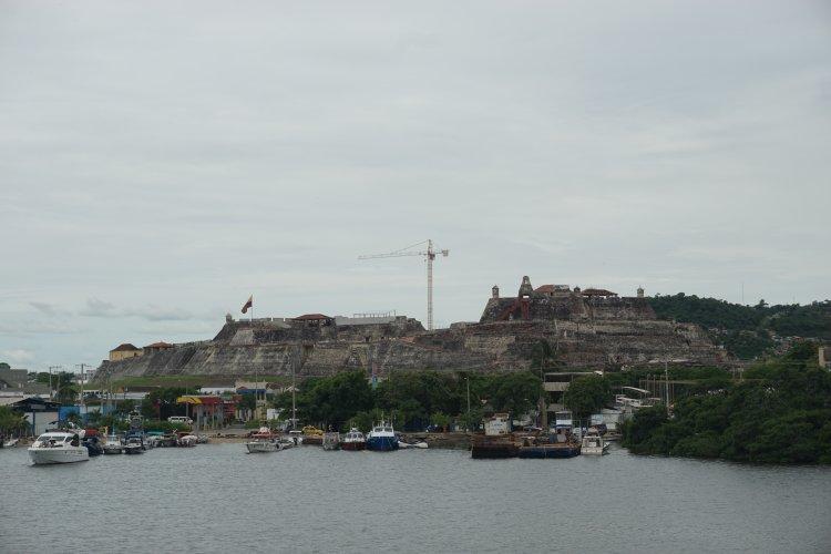 The San Felipe Castle, Cartagena.