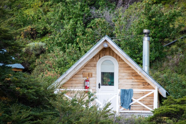 Two-bed huts in Los Cuernos, Torres del Paine National Park