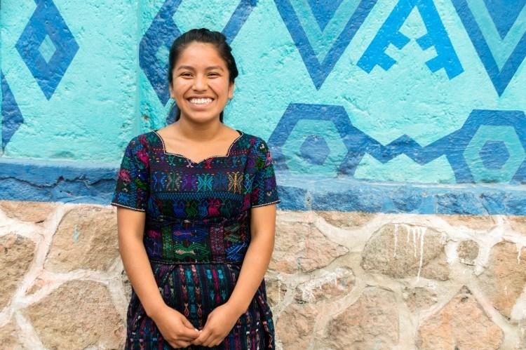 Jasmine from Pintado Santa Catarina, a sustainable tourism project on the shores of Lake Atitlan, Guatemala