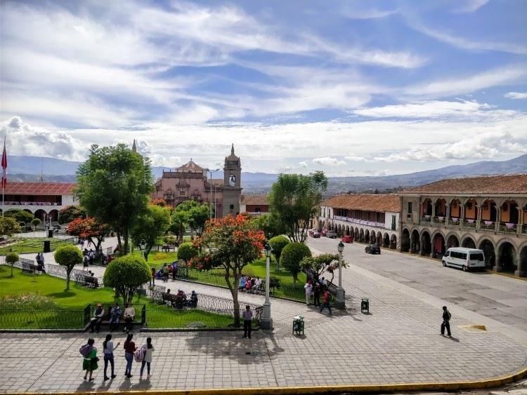 Ayacucho Plaza de Armas Peru