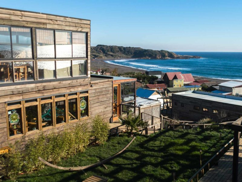 A small, locally-run hotel on the coast at Taucu, an under-the-radar destination in Chile and a great alternative to overtourism destinations