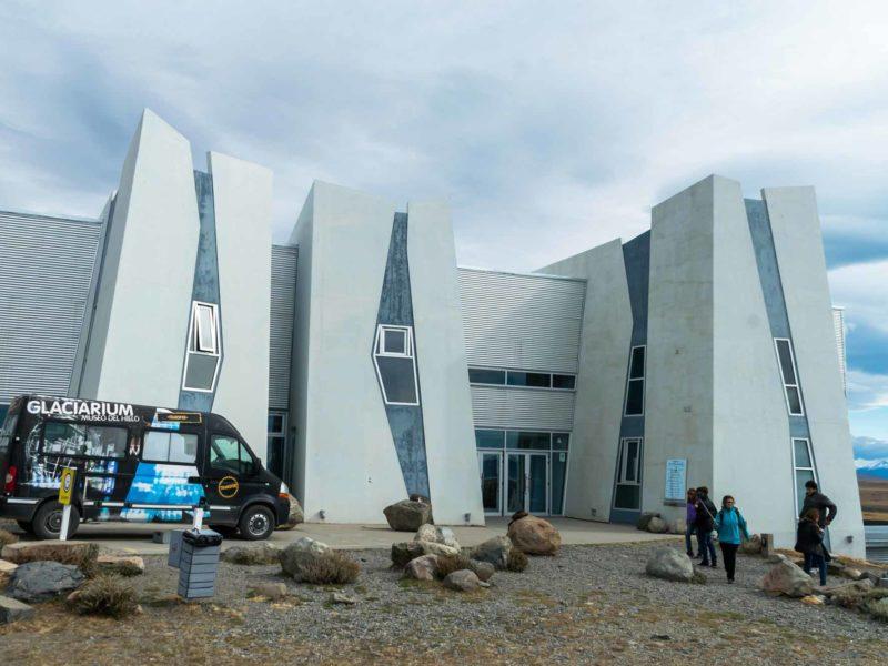 The Glaciarium in El Calafate, Patagonia