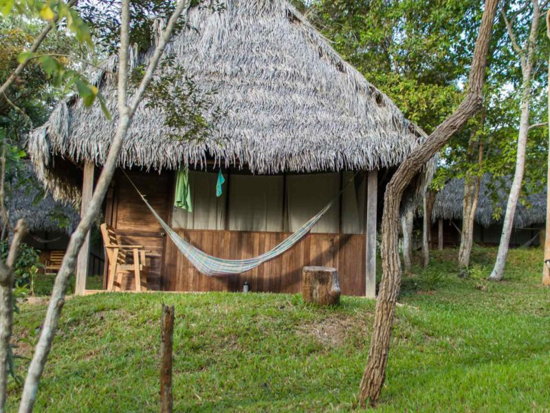 Tambo Ilusion, a yoga and ayahuasca retreat in Tarapoto in the north of Peru and a popular place to visit in Peru for health tourism