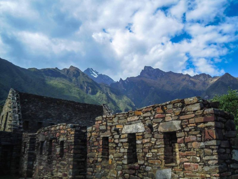 The ancient stone city of Choquequirao isn't overshadowed by the Peruvian mountains that surround it. This lower altitude hike through Peru is one of the best in South America.