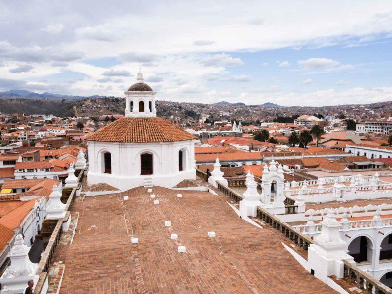 Bolivia Sucre San Felipe de Neri Convent views