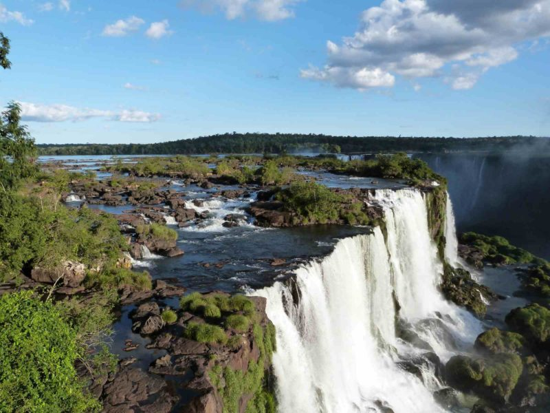 Iguazu Falls in Brazil a must-see feature on any South America Backpacking Route