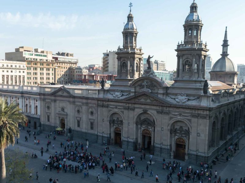 The Catedral in Downtown Santiago, Chile