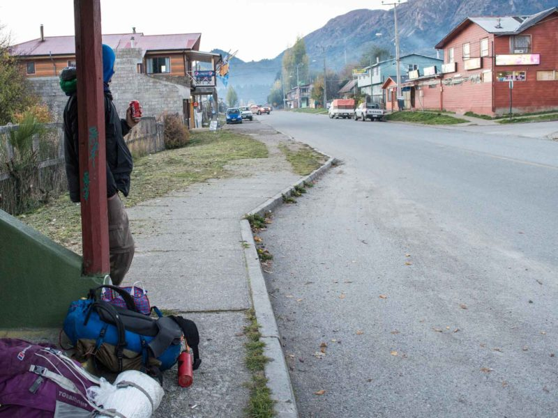 Hitchiking on the Carretera Austral in Chile