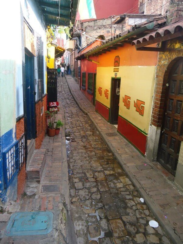 The colourful streets of Bogota in Columbia, a must-visit destination on any South America backpacking route