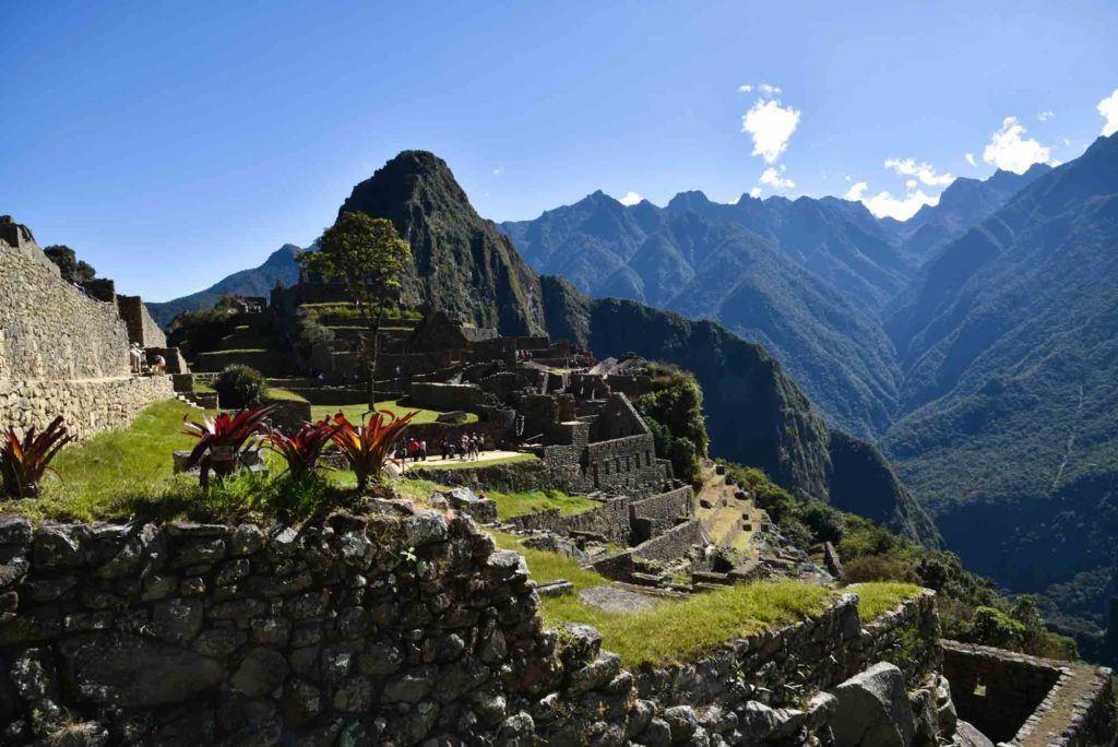 The postcard views of Machu Picchu from the Sun Gate