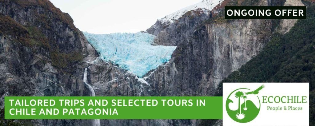 Glaciar Queulat, a destination in Patagonia that can be visited as part of a tour with EcoChile Travel