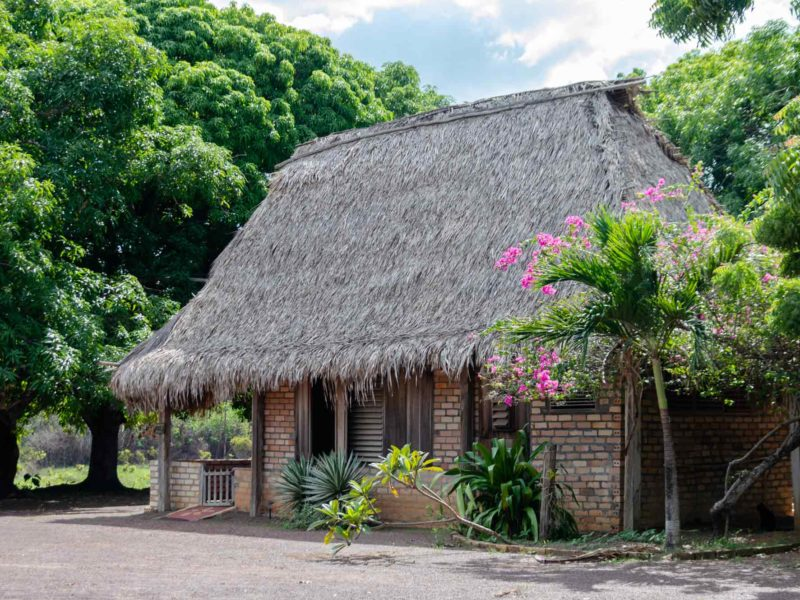 Karanambu Lodge in the Rupununi, one of the sustainable lodges found in Guyana, South America