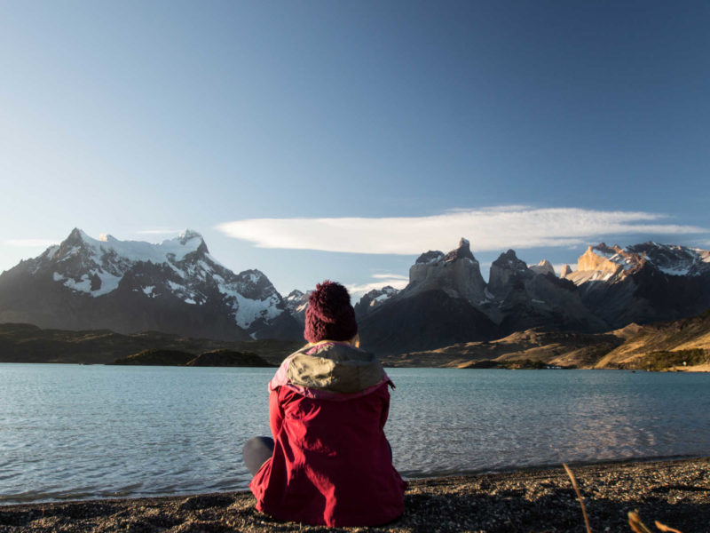Views from Mirador Cardan in Torres del Paine National Park, visible from a short day hike