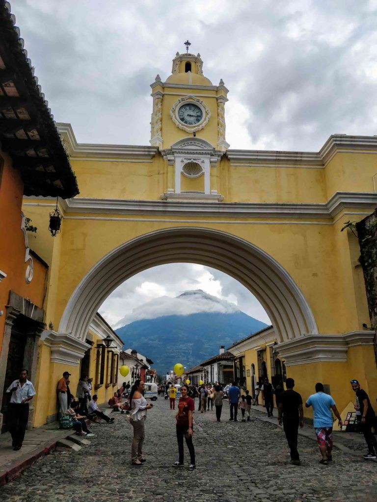 Arco de Santa Catalina is a landmark in Antigua, Guatemala's most stunning city