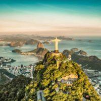 Christ the Redeemer statue above the city of Rio de Janeiro