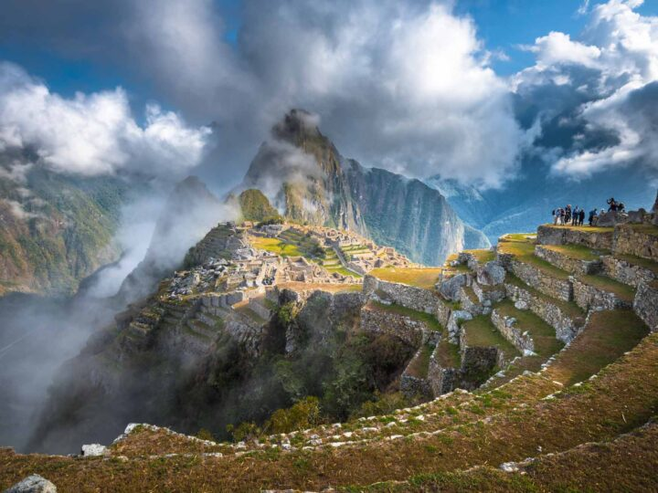 Machu Picchu, a UNESCO World Heritage Site. and one of South America's most unmissable tourist destinations.
