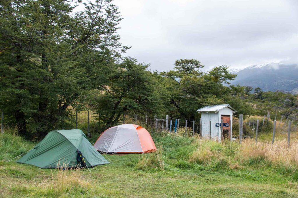 Big agnes copper spur hv UL2 in use in Patagonia