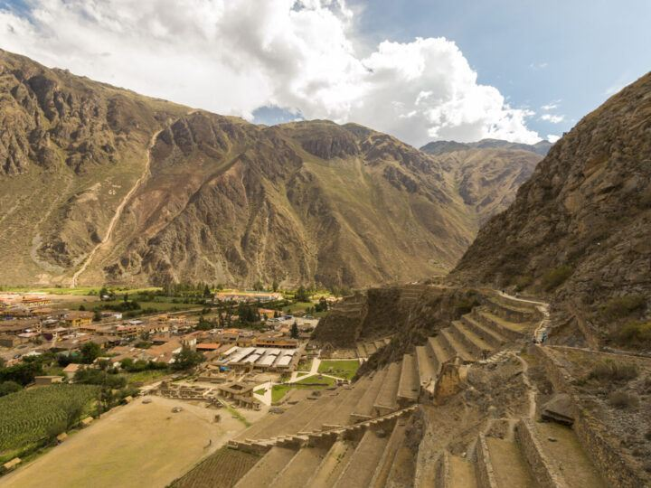 The Sacred Valley in Peru is best visited during the dry season for the most settled weather